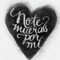 NO TE MUERAS POR MI – TRADUCTION EN FRANÇAIS